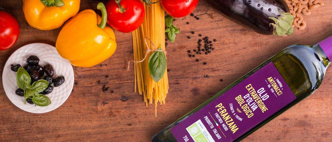 Caratteristiche dell'olio di oliva Peranzana