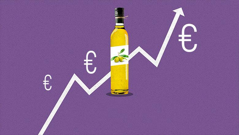 Qual è il giusto prezzo per uno olio extra vergine di oliva?